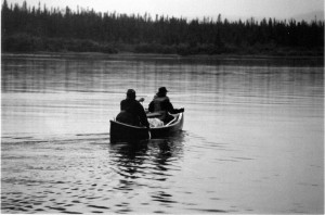 The start of my canoe expedition in Canada